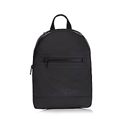 Calvin Klein - Black logo backpack