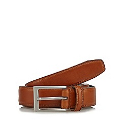 J by Jasper Conran - Tan leather pin buckle belt