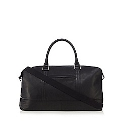 The Eighth - Black 'Elliot' leather holdall bag
