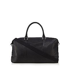 The Eighth - Black 'Elliot' leather holdall bag