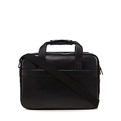 The Eighth - Black 'Francis' leather two handle bag