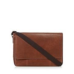 The Eighth - Tan 'Dalton' leather despatch bag