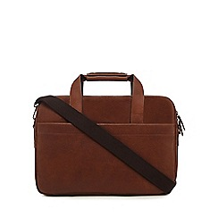 The Eighth - Tan 'Oscar' leather two handle bag
