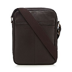 The Eighth - Brown 'Bryant' leather cross body bag