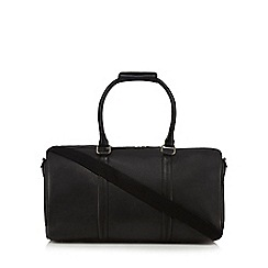 The Eighth - Black 'Addison' leather holdall bag