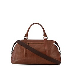 The Eighth - Tan 'Baxter' leather holdall bag