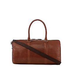 The Eighth - Brown 'Maxwell' leather holdall bag