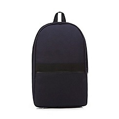 Hammond & Co. by Patrick Grant - Navy textured backpack