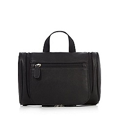The Collection - Black large wash bag