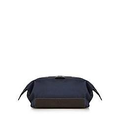 Jeff Banks - Navy contrasting trim wash bag