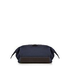 Jeff Banks - Navy contrasting trim wash bag
