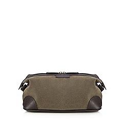 J by Jasper Conran - Brown textured wash bag