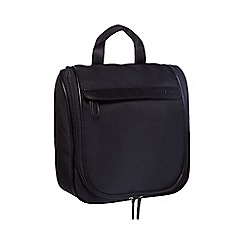 J by Jasper Conran - Black fold-out wash bag