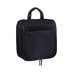 J by Jasper Conran - Black fold-out wash bag