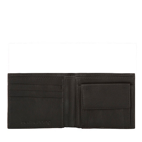 Red Herring - Black +Union Jack+ billfold wallet