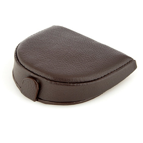 Thomas Nash - Brown leather coin wallet