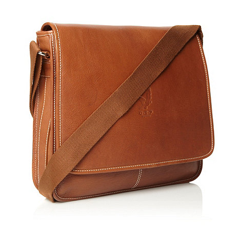 Osprey - Tan +Monterey+ leather messenger bag