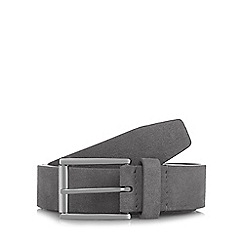 J by Jasper Conran - Grey suede belt