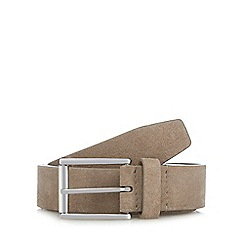 J by Jasper Conran - Natural suede belt