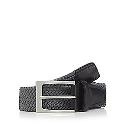 Maine New England - Big and tall grey woven belt