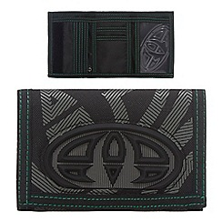 Animal - Black logo print wallet