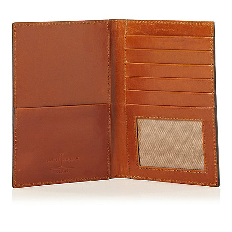 J by Jasper Conran - Designer tan leather passport cover
