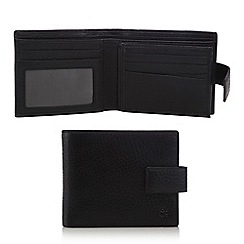 Hammond & Co. by Patrick Grant - Black pebbled leather wallet