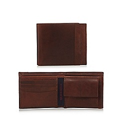 RJR.John Rocha - Brown leather panel wallet