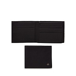 Jeff Banks - Black leather wallet