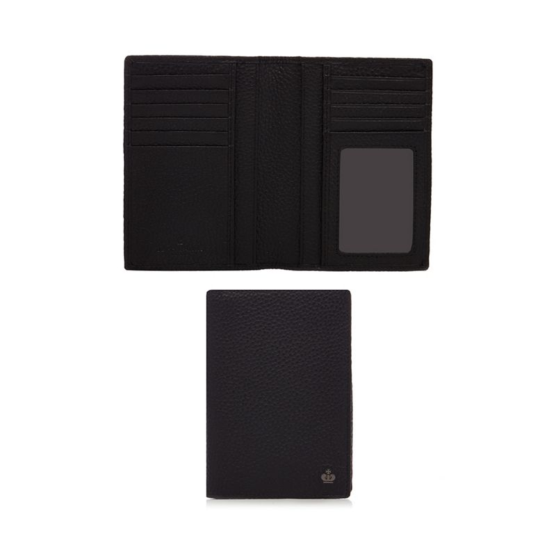 Jeff Banks Black leather passport cover