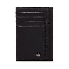 Jeff Banks - Black leather credit card holder