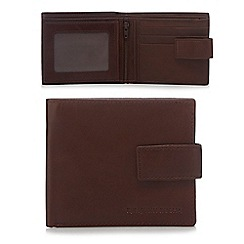 RJR.John Rocha - Brown leather foldout wallet
