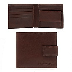 RJR.John Rocha - Brown leather wallet in a tin