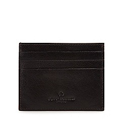Jeff Banks - Black leather card holder