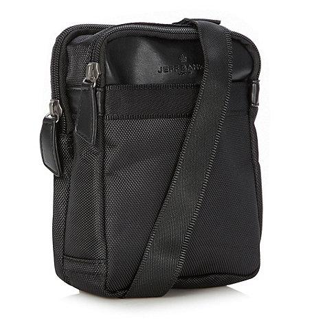 Jeff Banks - Designer black canvas festival bag