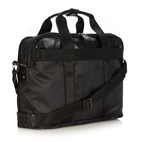 Jeff Banks - Designer black laptop bag