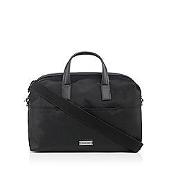 Calvin Klein - Black logo print holdall bag