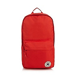 Converse - Red logo detail backpack