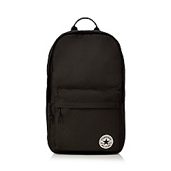 Converse - Black logo detail backpack