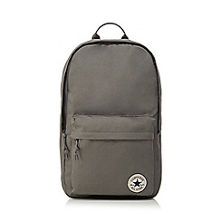 Converse - Dark grey logo detail backpack