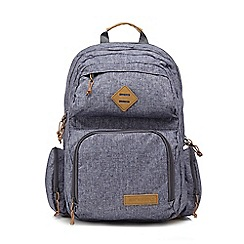 Animal - Mid blue denim backpack