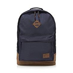 Animal - Black textured backpack