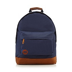 Mi-Pac - Navy and tan classic backpack