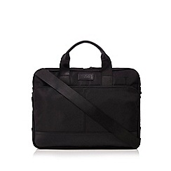 Jeff Banks - Black two handle laptop bag