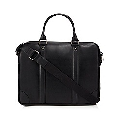 J by Jasper Conran - Black briefcase