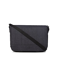 Jeff Banks - Dark grey despatch bag