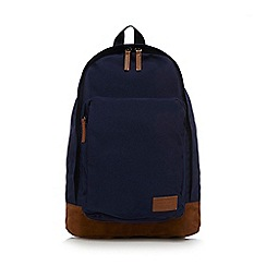 Red Herring - Navy badge backpack