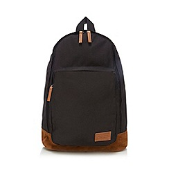 Red Herring - Black badge backpack
