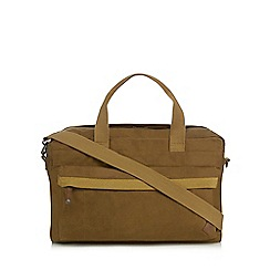 RJR.John Rocha - Natural canvas holdall bag