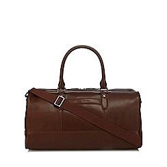 J by Jasper Conran - Tan leather holdall bag